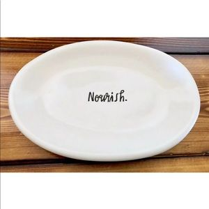 "✨ TODAY ONLY ✨ Rae Dunn - Oval Tray ""NOURISH"""